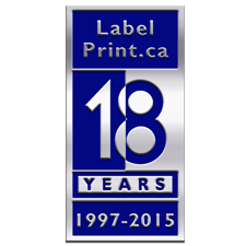 Business anniversary seals - STYLE 6