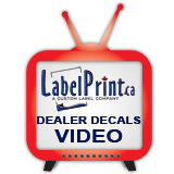 click here for custom auto dealer decal printing video