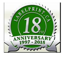 Anniversary Seal Sample Style 4