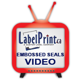 click here for Custom Embossed Seals Video
