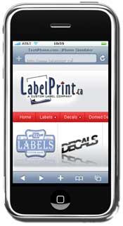 Label Print QR Code