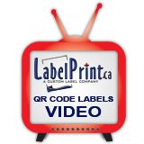 QR Code Labels Video Link