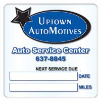 Service Stickers
